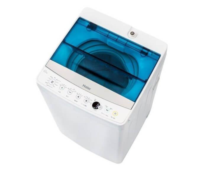 ハイアール全自動洗濯機