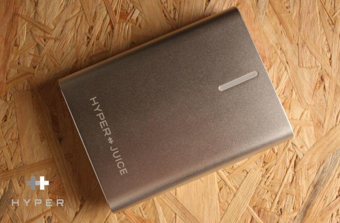 MacBookユーザー向け最強モバイルバッテリー「HyperJuice AC」レビュー!
