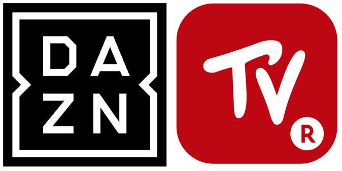 DAZNと楽天TV