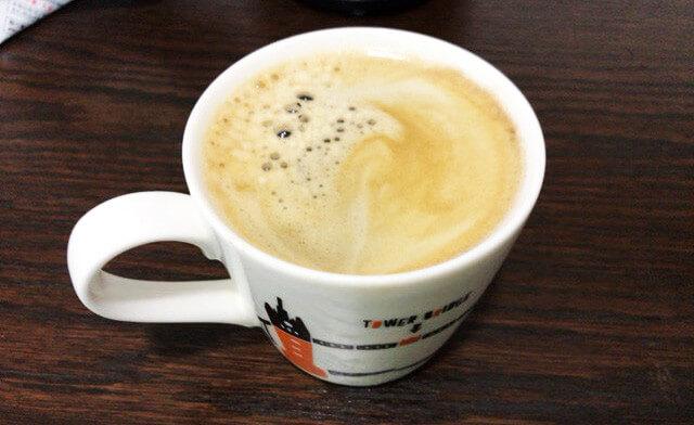 ドルチェグストで作ったコーヒー