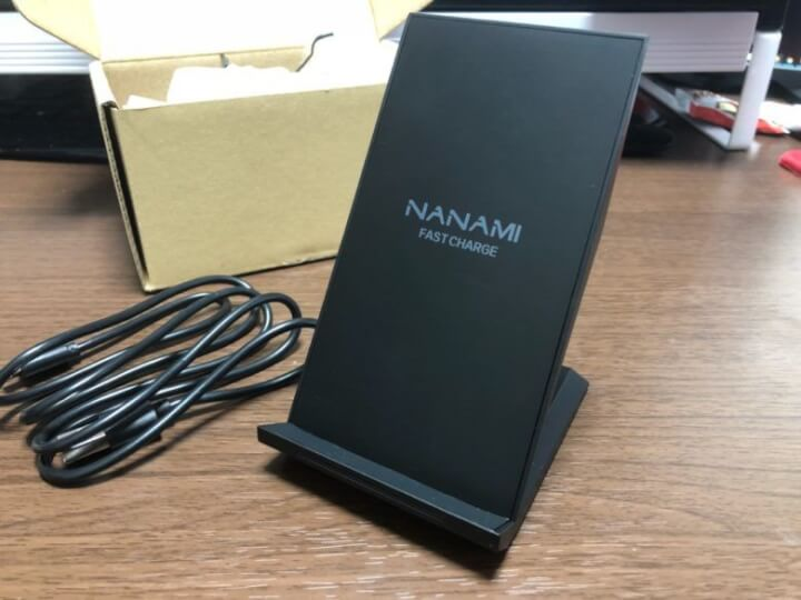 NANAMI Quick Charge 2.0の本体